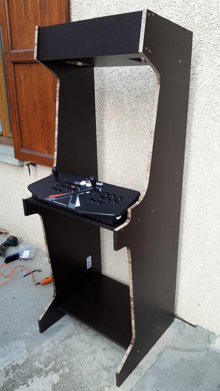 borne arcade tetris