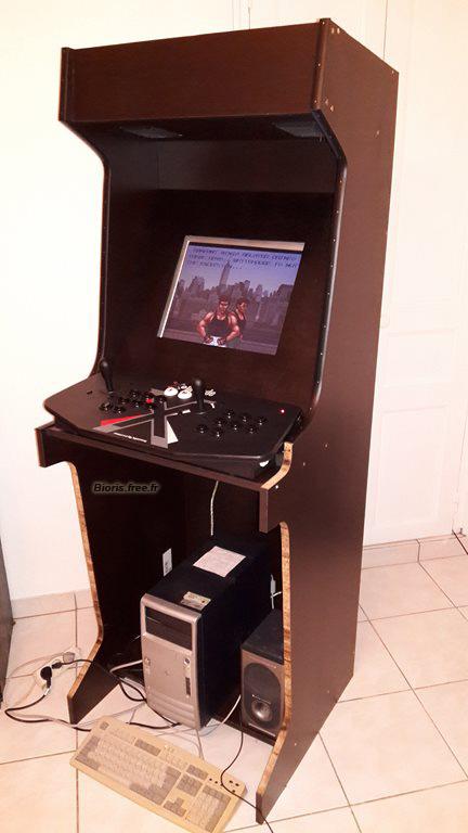 borne arcade construction