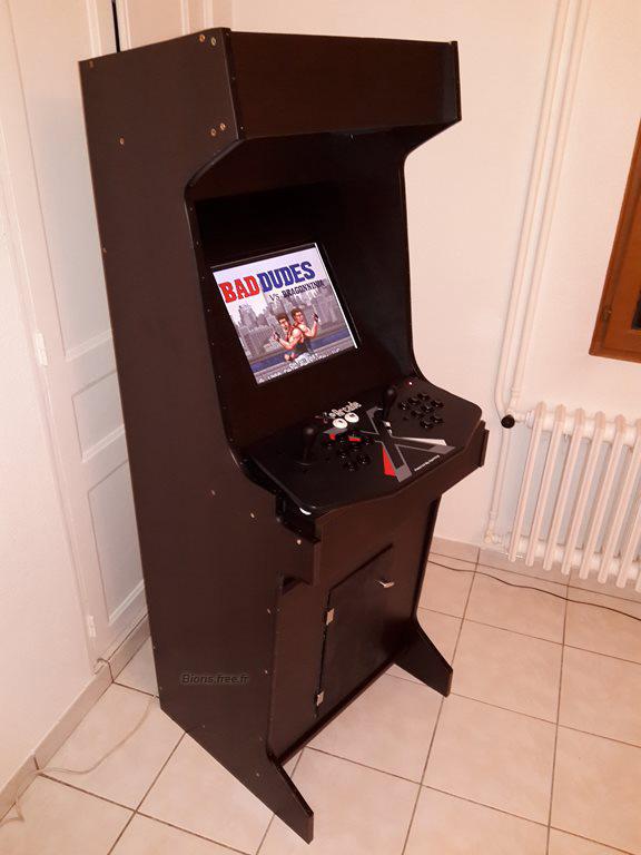 borne arcade 19 pouces